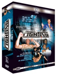 3 Fighting Jiu-Jitsu DVDs Geschenk-Set
