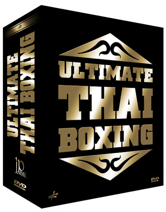 3 Muay Thai DVDs Geschenk-Set Ultimate Thai Boxing