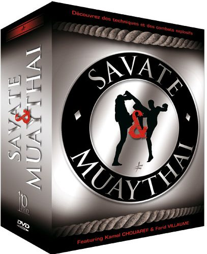 4 Muay Thai & Savate DVDs Geschenk-Set
