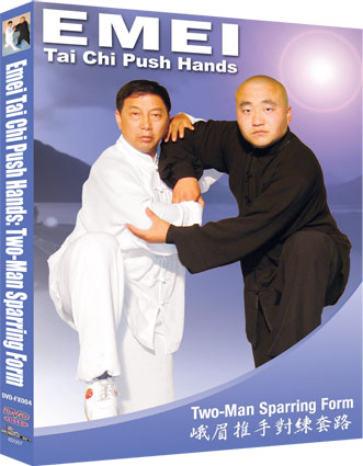 Emei Tai Chi Push Hands Two-Man Sparring Form von Jack (Xueli) Fu
