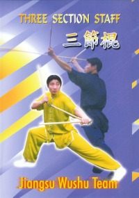 Three Section Staff - Jiangsu Wushu Team